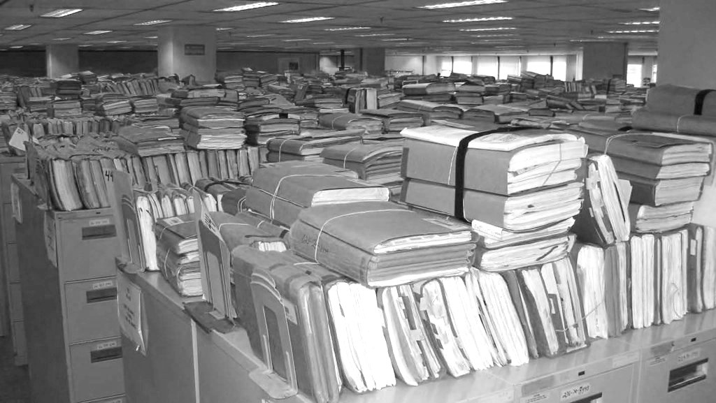 files in the office